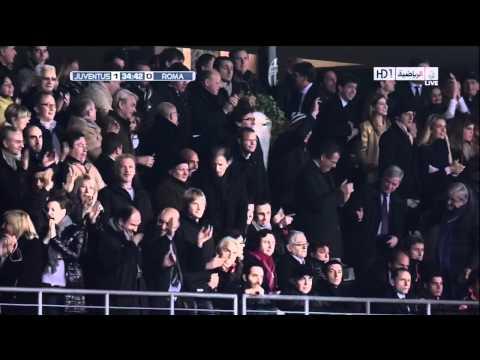 Iaquinta Goal Juventus V Roma ( Aquilani Assist) HD