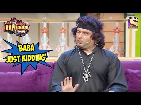 Kappu Sharma Claims To Be  'Baba Just Kidding' - The Kapil Sharma Show thumbnail