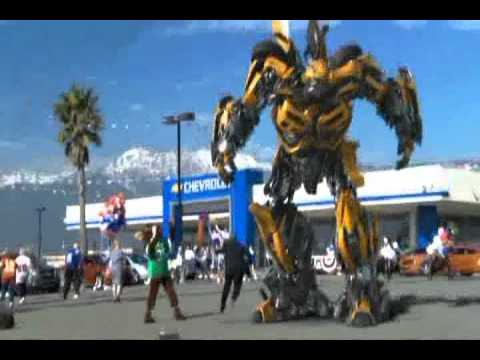 "2011 GM Chevy Super Bowl Commercial ""Bumblebee"""