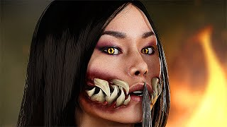 Mortal Kombat 11 - Shao Kahn Find Out What Happened to Mileena (MK11)
