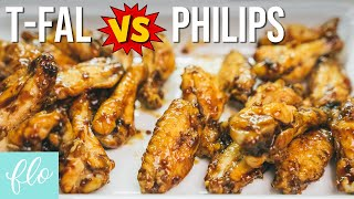 PHILIPS AIRFRYER vs T-FAL ACTIFRY - Chicken Wings Showdown