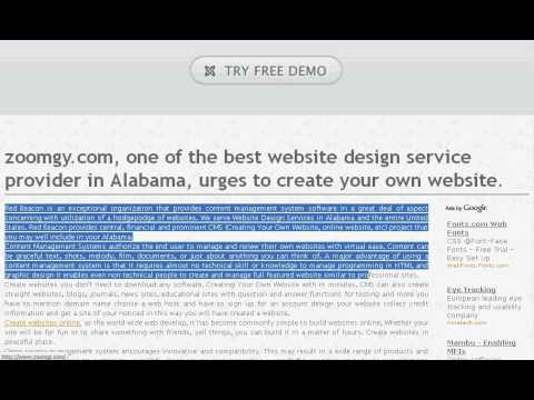 0 zoomgy.com   Creating Your Own Website   Website Design Services