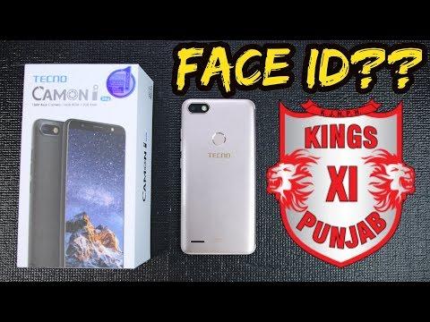 Tecno Camon I Sky Unboxing & First Look   IPL King's XI Punjab Edition