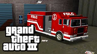 Grand Theft Auto 3 (PC) | Side Mission - Firefighter [60 Fires]