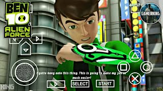 [10MB] How To Download Ben 10 Alien Force Game On Android | Ben 10 Game On Android 2018