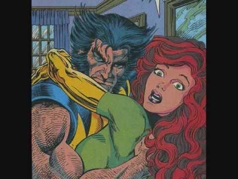 Wolverine & Jean Grey