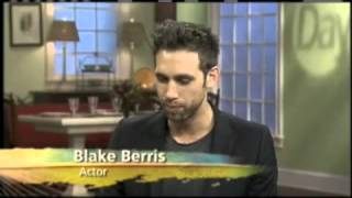 Actor Blake Berris (Days of Our Lives, Meth Head) on Daytime 3-28-13