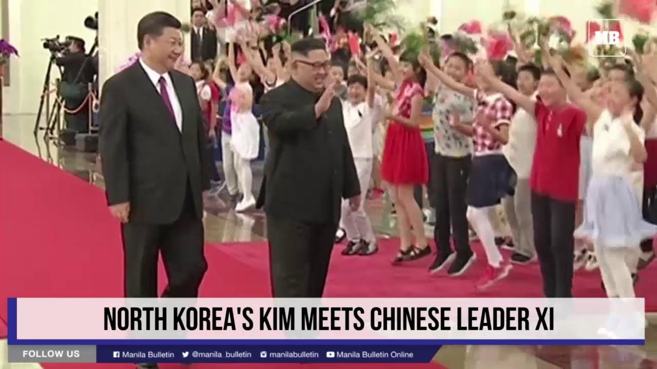 North Korea's Kim meets Chinese leader Xi