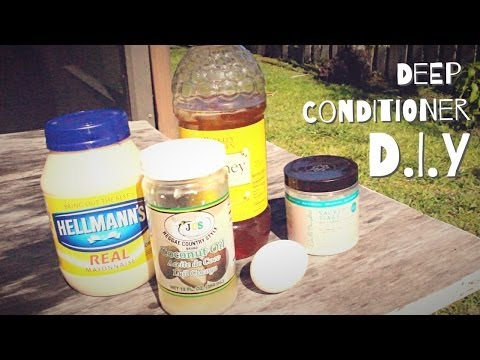 Natural Hair Moisturizing DIY Deep Conditioner YouTube
