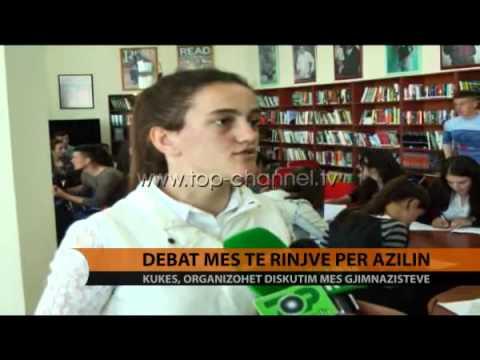 Debat mes të rinjve për azilin - Top Channel Albania - News - Lajme
