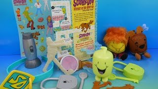 2013 SCOOBY-DOO MYSTERY OF THE GHOST TOT SET OF 10 SONIC DRIVE-IN KIDS TOYS VIDEO REVIEW