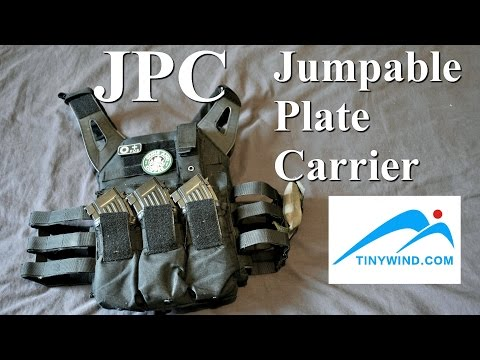 JPC Jumpable Plate Carrier. Review Fr. Airsoft. (n°190)