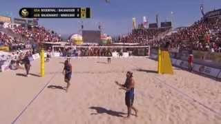 Phil Dalhausser puts on a Show for Long Beach FIVB WSOBV