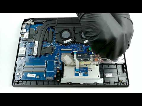 HP Pavilion Gaming 15 (15-ec0000) - disassembly and upgrade options