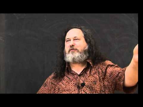 Richard Stallman on free software