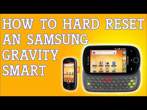 How To Hard Reset Samsung Gravity Smart For T-Mobile Forgot Password