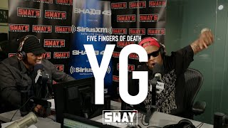 YG Goes Brazy With His 5 Fingers Of Death Freestyle!