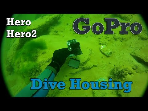 New GoPro Dive Housing Test - Lake Havasu City, AZ