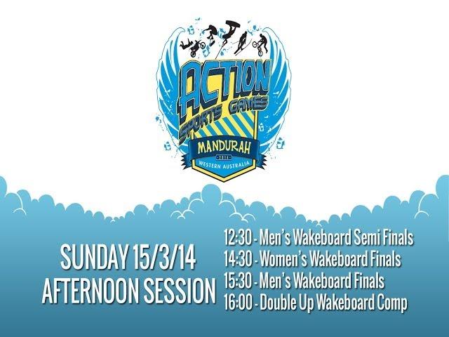 Action Sport Games - Day 2 PM - IWWF 39th World Cup, Mandurah, 2014