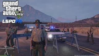 GTA 5 - LSPDFR - EPiSODE 4 - LET'S BE COPS - SHERIFF PATROL (GTA 5 PC POLICE MODS)