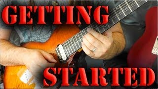 How To Start Playing Electric Guitar - Guitar Lesson