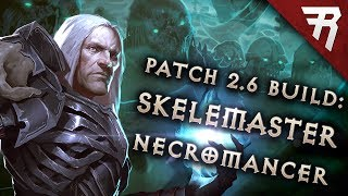 Diablo 3 2.6.5 Necromancer Build: Minion Starter & End-Game Rathma GR 119+ (Guide, Season 17)