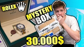 30.000€ MYSTERY BOX OPENING ROLEX EDITION! (EBAY)