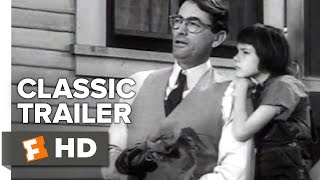 To Kill a Mockingbird Official Trailer #1 - Gregory Peck Movie (1962) HD