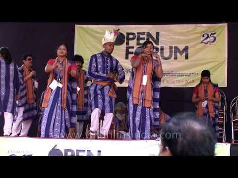 People enjoying dance performance at International Film Festival Of India: Goa