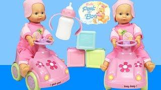 Baby Alive ve Arabalı Oyuncak Bebek ile Bebek Bakma Oyunu | Bebek Videoları | EvcilikTV