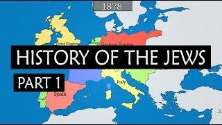 Geschiedenis van de Joden - samenvatting van 750 v. Chr. Tot conflict tussen Israël en Palestina