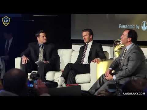 Q&A with David Beckham and Bruce Arena