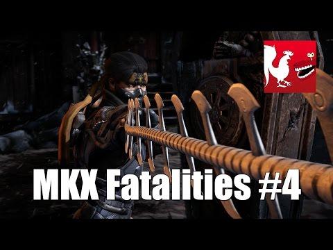 Mortal Kombat X - Fatalities Part 4