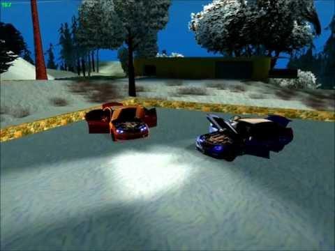 GTA SAN ANDREAS MERCEDES E63 AMG++COLORFULENB+SNOW MOD