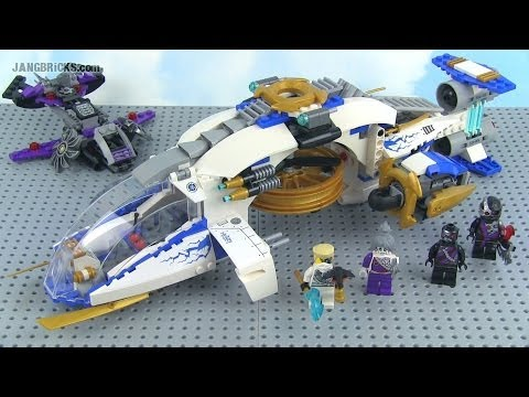 LEGO Ninjago 2014 NinjaCopter 70724 full Review!