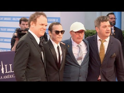 Joaquin Phoenix, John C Reilly , Jacques Audiard And More At The The Sisters Brothers Red Carpet Dur