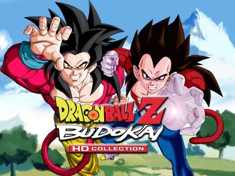 DBZ Budokai 3 HD: Goku SSJ4 vs Vegeta SSJ4 (Live ...