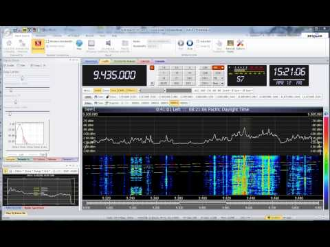 VO North Korea 9435 KHz Shortwave SDR 2013-04-12
