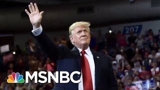 Trump Laughs As Crowd Chants 'Lock Her Up!' About Senator Dianne Feinstein | The 11th Hour | MSNBC