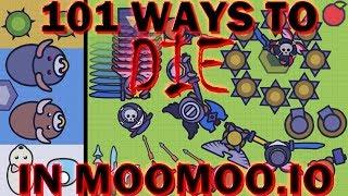 How to Die in Moomoo.io (101 Ways to Die in Moomoo.io)