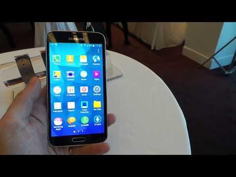 MWC 2014: Hands On Samsung Galaxy S5