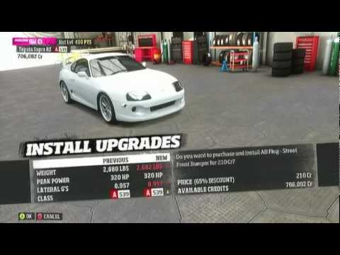Forza Horizon   Toyota Supra Full Drift Build