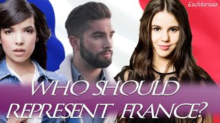 Eurovision 2018 - Who should represent France?