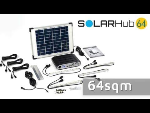 High power solar lighting   Solar Hub