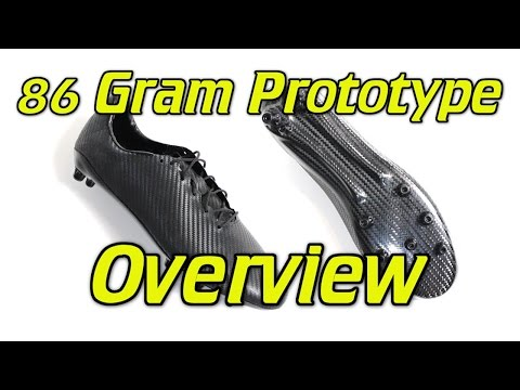 86 Gram Prototype Soccer Cleats/Football Boots Overview