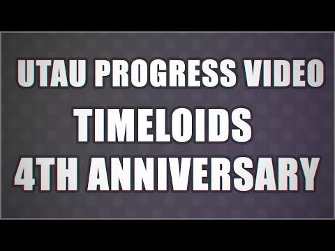 【UTAU 4th Anniversary】COMPARISON / PROGRESS VIDEO【TIMELOID】