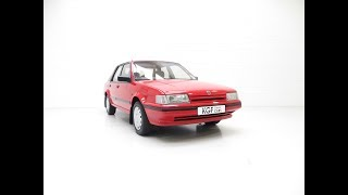 Possibly The Most Cosseted Rover Montego 1.6LX Ever with Just 48,365 Miles - SOLD!