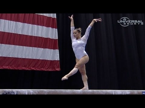 Alicia Sacramone on Day 2 of Championship - night 2 routines