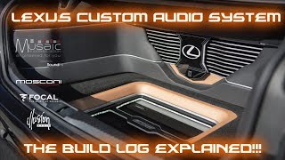 Lexus GS350 F Sport Musaic Audiophile Conversion *The Full Build Explained!!!*