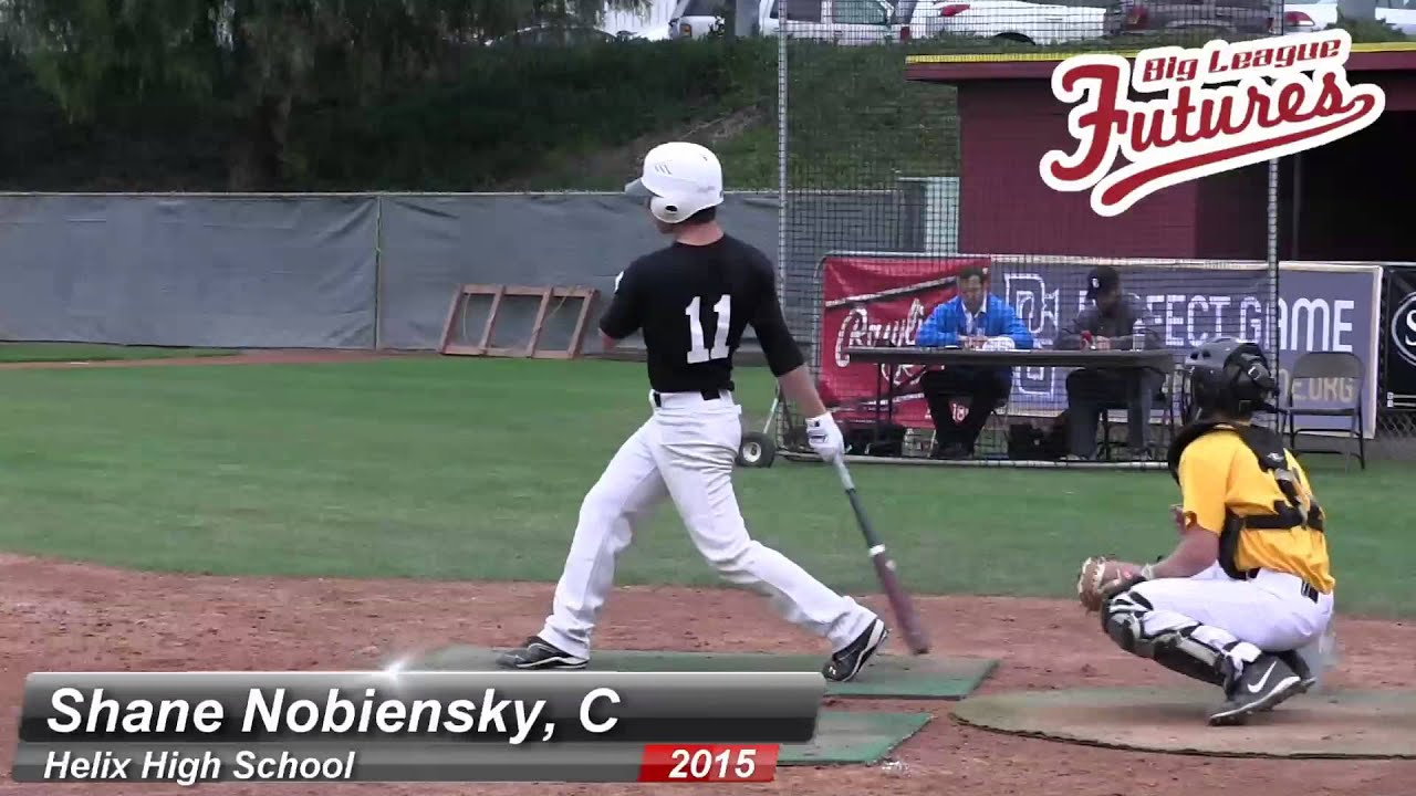 Catcher Prospect Videos Shane Nobiensky Prospect Video